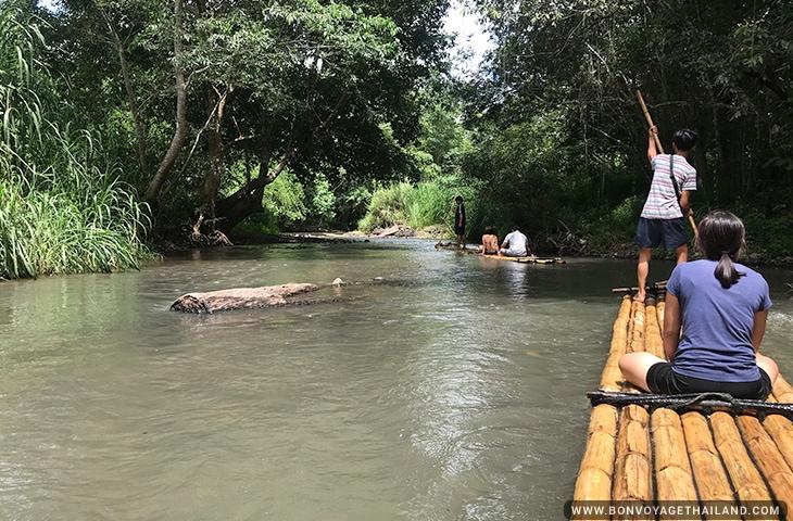 Bamboo Rafting on the Mae Wang River