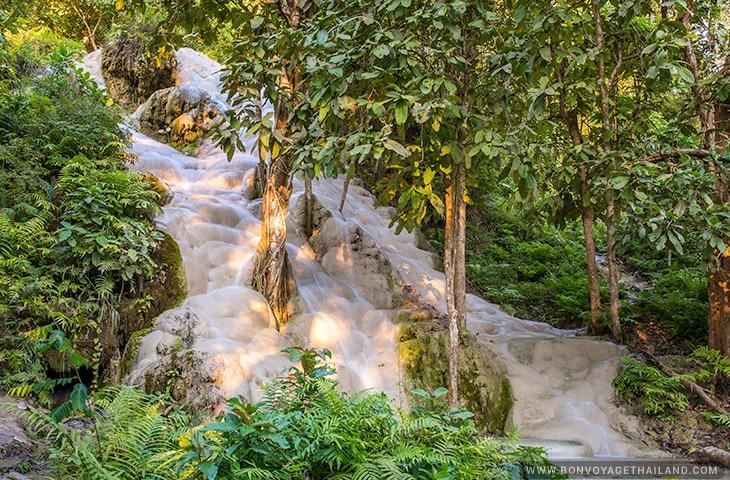 Bua Tong Sticky Waterfalls in Chiang Mai