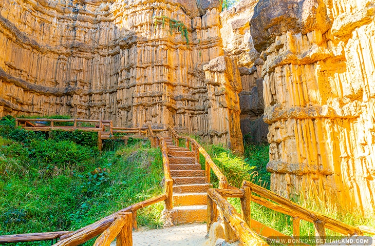 Pha Choi or Pha Chor Grand Canyon of Chiang Mai