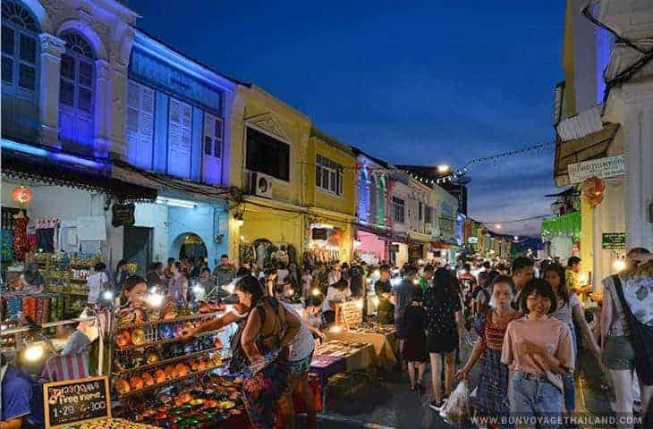 Phuket Town Weekend Night Market