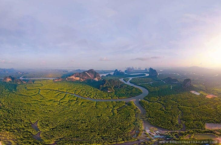 Samet Nangshe Viewpoint in Phang Nga