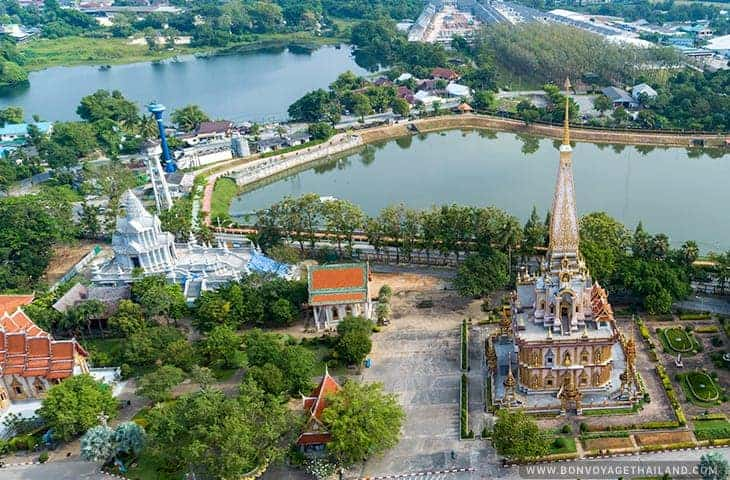 Wat Chalong Temple in Phuket