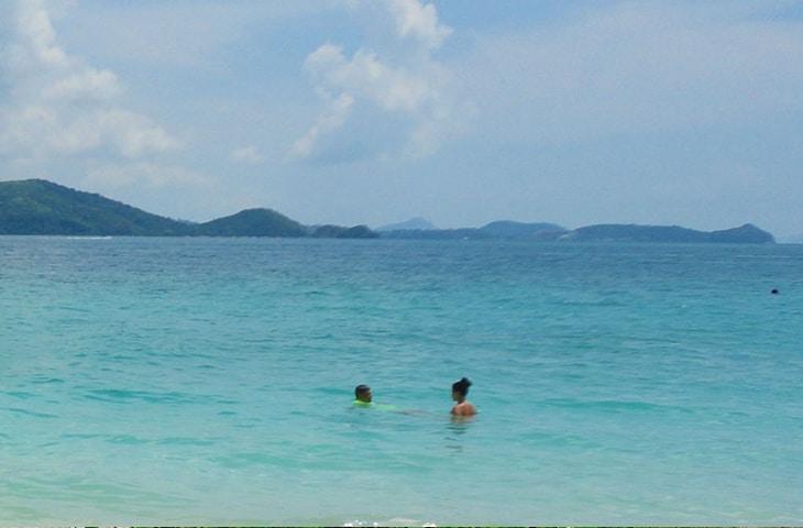 Banana Beach Coral Island Phuket Thailand