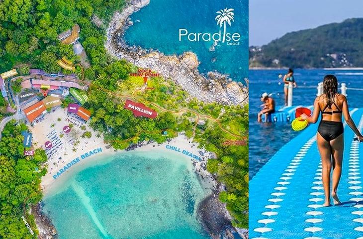 Paradise Beach Phuket Thailand