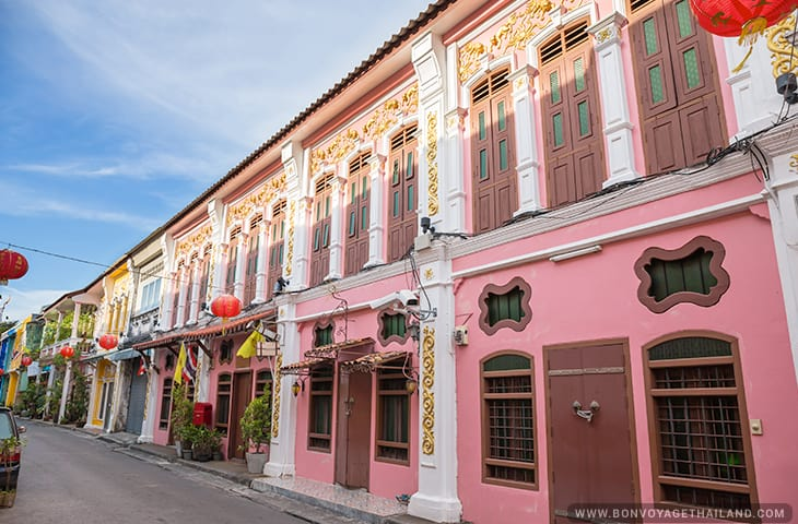 Phuket Old Town Thailand