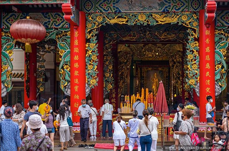 Guan Yin Shrine at the Thian Fah Foundation Hospital