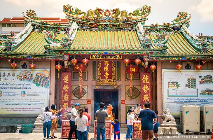 Wat Mangkon Kamalawat Chinatown Bangkok